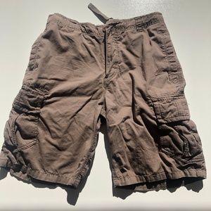 Nike Tan Brown Cargo Casual Shorts Mens Medium